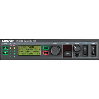 Shure P9T Wireless Transmitter for PSM900 (G6: 470-506MHz)