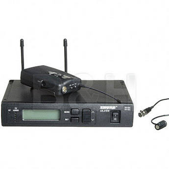 Shure ULX Standard Series Wireless Lavalier Microphone System (Frequency Set M-1)