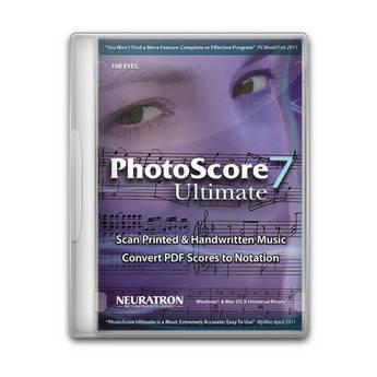 Sibelius PhotoScore Ultimate 7 - Advanced Music Scanning Software