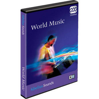 Sibelius World Music - Sample Library for Sibelius 5 - Educational Institution Discount (Pricing per Seat for 11 to 50 Seats)