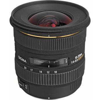 Sigma 10-20mm f/4-5.6 EX DC HSM Autofocus Lens for Four Thirds System