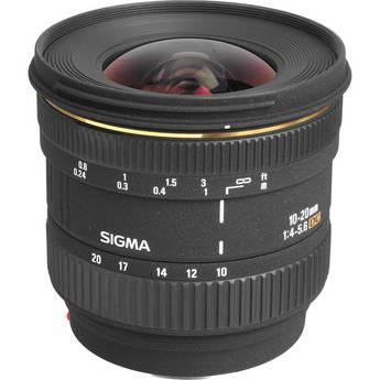 Sigma 10-20mm f/4-5.6D EX DC Lens for Sony Alpha Digital SLR Cameras