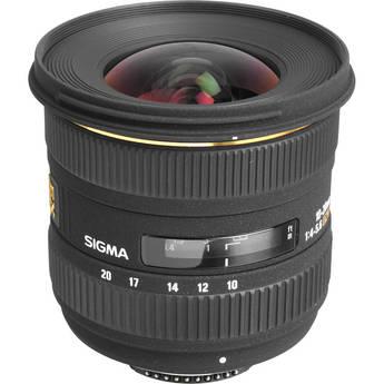 Sigma 10-20mm f/4-5.6D EX DC HSM Autofocus Zoom Lens for Nikon DSLRs