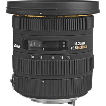 Sigma 10-20mm f/3.5 EX DC HSM Autofocus Zoom Lens for Pentax