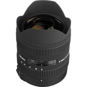 Sigma 8-16mm f/4.5-5.6 DC HSM Ultra-Wide Zoom Lens for Pentax Digital SLR
