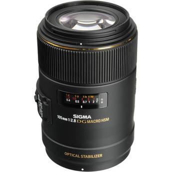 Sigma 105mm f/2.8 EX DG OS Macro Lens for Nikon AF Cameras