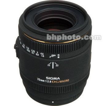 Sigma 70mm f/2.8 EX DG Macro AF Lens for Pentax AF