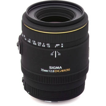 Sigma 70mm f/2.8 EX DG Macro Autofocus Lens for Sigma SLR Camera