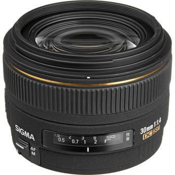 Sigma 30mm f/1.4 EX DC HSM Autofocus Lens for Sigma Digital SLR Camera