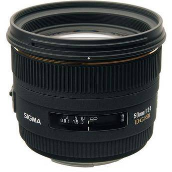 Sigma 50mm f/1.4 EX DG HSM Lens for Sony Alpha