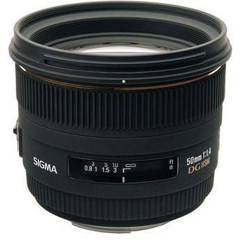 Sigma 50mm f/1.4 EX DG HSM Lens for Pentax K