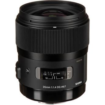 Sigma 35mm f/1.4 DG HSM Lens for Sigma DSLR Cameras