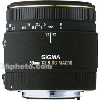 Sigma 50mm f/2.8 EX DG Macro Autofocus Lens for Sigma SLR Camera