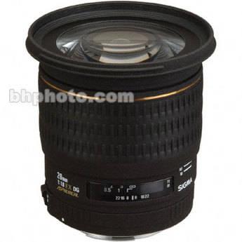 Sigma 20mm f/1.8 (D) EX Aspherical DG DF RF AF Lens