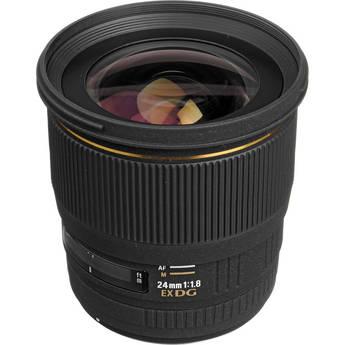 Sigma 24mm f/1.8 EX Aspherical DG DF Macro AF Lens