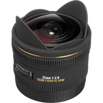 Sigma 10mm f/2.8 EX DC HSM Fisheye Lens for Canon Digital Camera