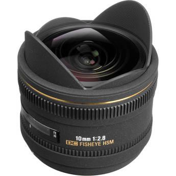 Sigma 10mm f/2.8 EX DC HSM Fisheye Lens for Nikon DX Digital Cameras
