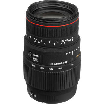 Sigma 70-300mm f/4-5.6 APO DG Macro Autofocus Lens for Sigma Cameras
