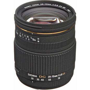 Sigma 28-70mm f/2.8 EX DG Autofocus Lens for Canon EOS