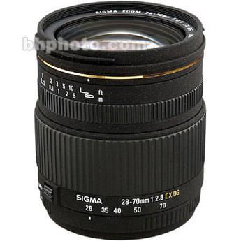 Sigma 28-70mm f/2.8 EX DG Autofocus Lens for Pentax AF