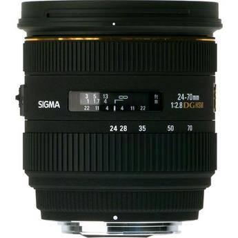 Sigma 24-70mm f/2.8 IF EX DG HSM Autofocus Lens for Pentax