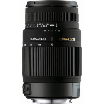 Sigma 70-300mm f/4-5.6 DG OS Lens for Sony Alpha & Minolta Digital Cameras