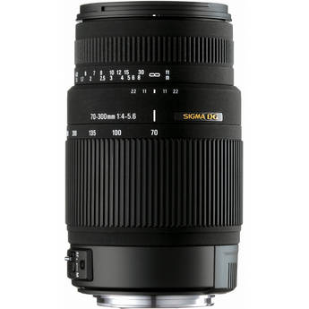 Sigma 70-300mm f/4-5.6 DG OS Lens for Nikon Digital Cameras