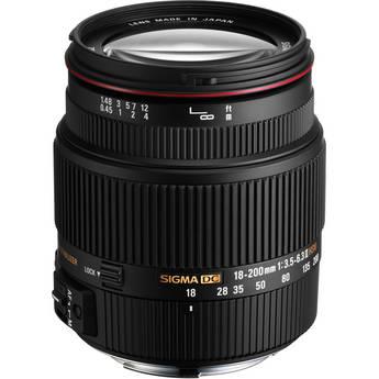 Sigma 18-200mm f/3.5-6.3 II DC HSM Lens for Pentax AF