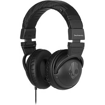 Skullcandy Hesh DJ-Style Stereo Headphones (Black/Grey)
