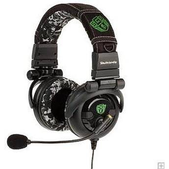 Skullcandy GI SGS DJ-Style Stereo Headset with Boom Mic for Xbox 360