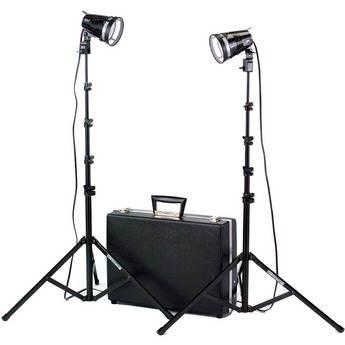 Smith-Victor K102 Kit 2-Light 1200 Watt Quartz Portable Attache Kit