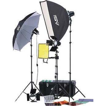 Smith-Victor K70 3-Light 1800 Watt Professional Portable Accessorized Light Kit