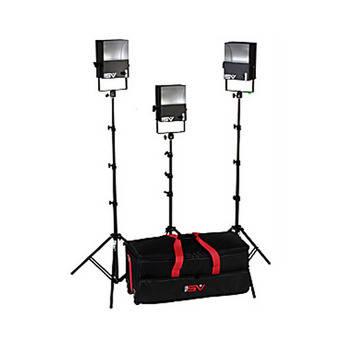 Smith-Victor SL300 3-Light 1800 Watt Softlight Location Kit (120-230V AC)