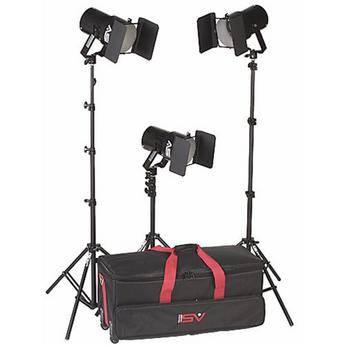 Smith-Victor K63 3-Light 1800 Watt Quartz Portable Kit (120-240VAC)