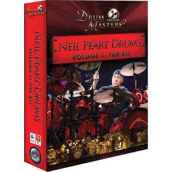 Sonic Reality Neil Peart Drums Vol 1: The Kit - Virtual Drums for BFD (DVD E