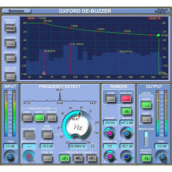 Sonnox Oxford DeBuzzer - Hum and Buzz Removal Plug-In (Native)