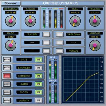 Sonnox Oxford Dynamics - Dynamics Plug-In (TDM)