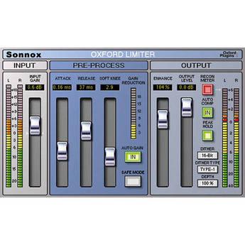 Sonnox Oxford Limiter - Limiter Plug-In (TDM)
