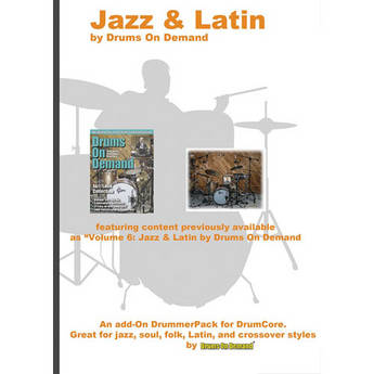 Sonoma Wire Works Jazz & Latin - DrummerPack for DrumCore