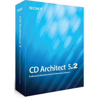 Sony CD Architect 5.2 - CD Mastering Software