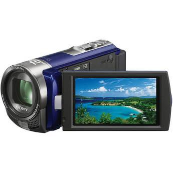 Sony DCR-SX45E SD Flash Memory PAL Camcorder (Blue)