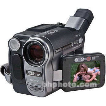 pilote camescope sony handycam