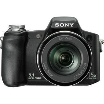 Sony Cyber-shot DSC-H50 Digital Camera (Black)