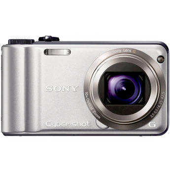 Sony Cyber-shot DSC-H55 Digital Camera (Silver)