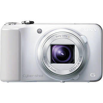 Sony Cyber-shot DSC-HX10V Digital Camera (White)