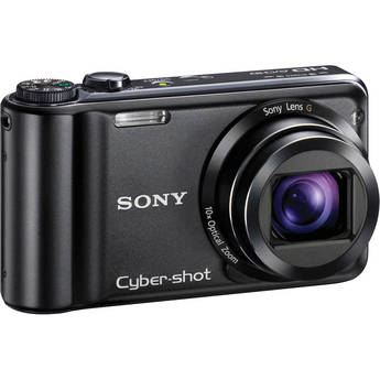 Sony Cyber-shot DSC-HX5V Digital Camera (Black)