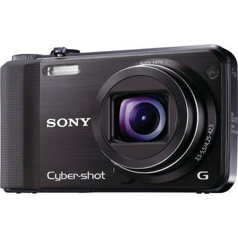 Sony Cyber-shot DSC-HX7V Digital Camera (Black)