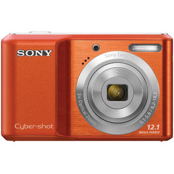 Sony Cyber-shot DSC-S2100 Digital Camera (Orange)