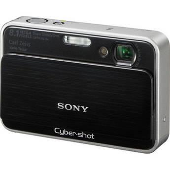 Sony Cyber-shot DSC-T2 Digital Camera (Black)