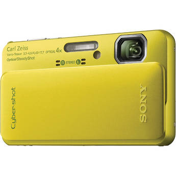 Sony Cyber-shot DSC-TX10 Digital Camera (Green)